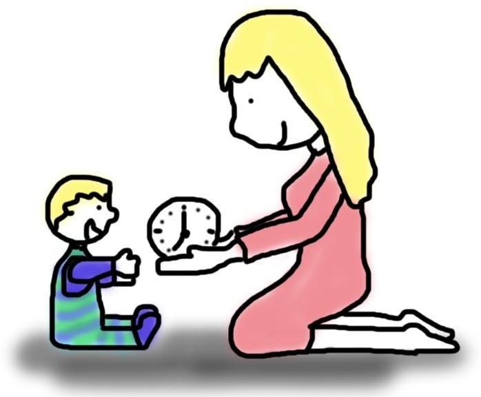 Mama schenkt Kind Zeit